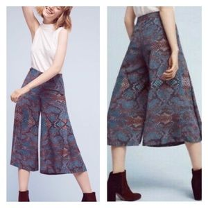 Anthropologie The Essential Culottes Gaucho Pants